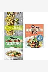 Skinnytaste cookbook, slow cooker vegetarian recipe book and skinny blood sugar diet recipe book 3 books collection set Paperback