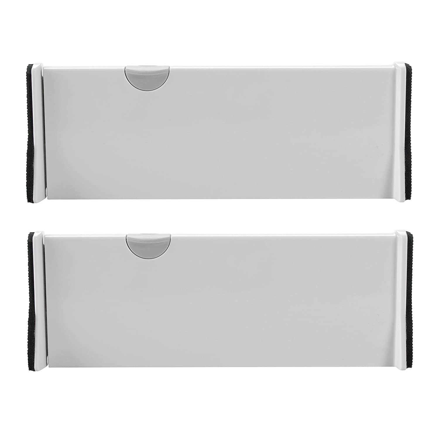 OXO Expandable Dresser Drawer Dividers 4-Inch, Pack of 2 - UPDATED VERSION AVAILABLE 1391200