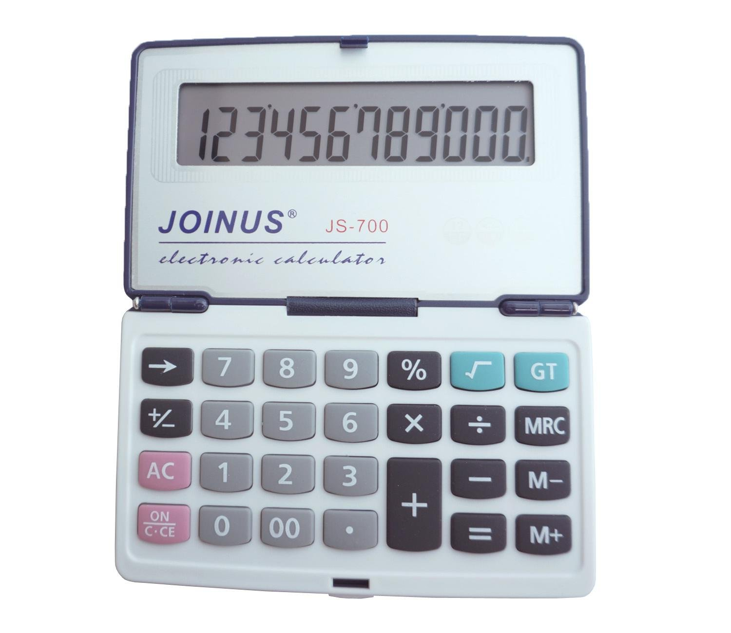 Foldable calculator, Dust-proof and easy to carry, With Large LCD Display,Business Standard Function Calculator for Daily and Basic Office