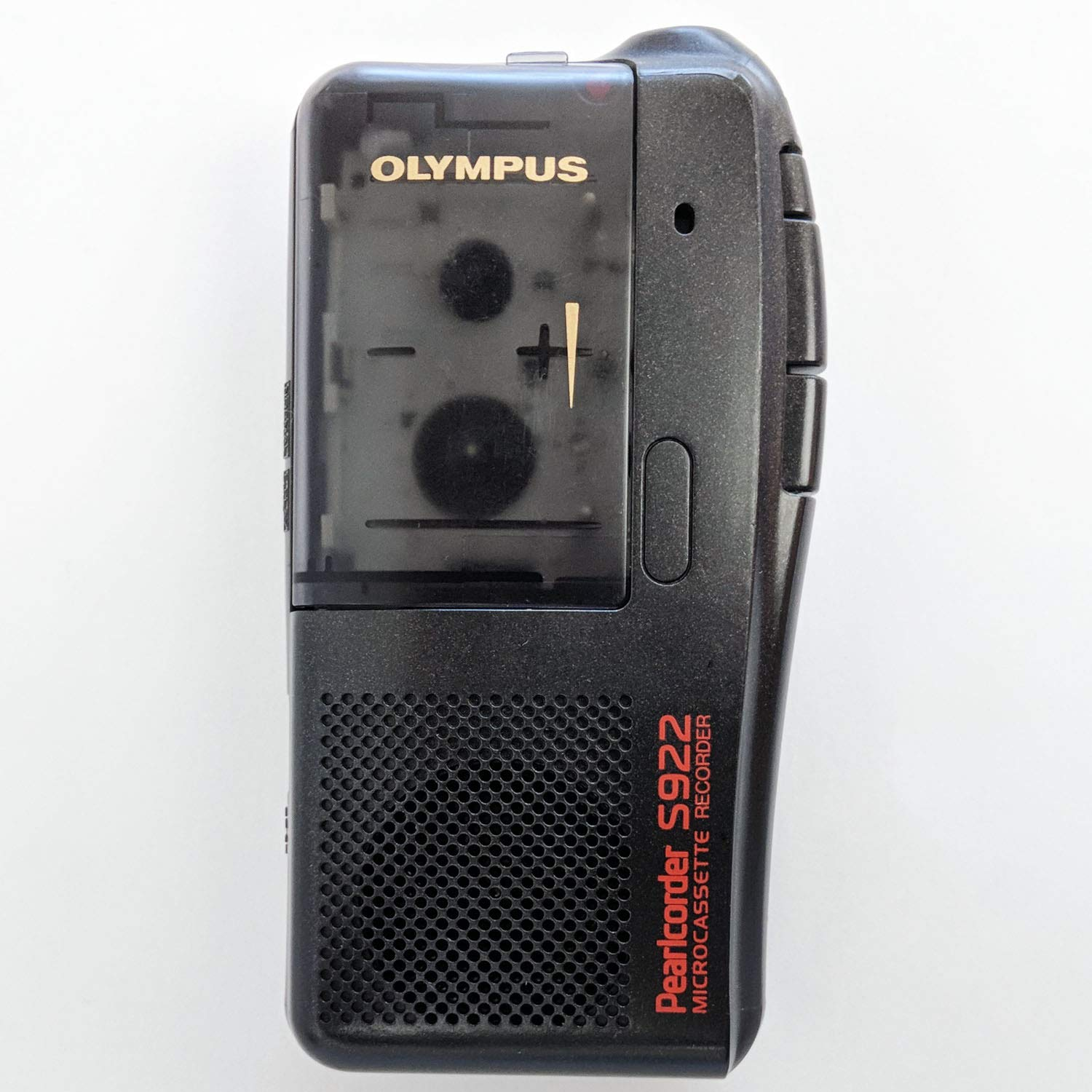Olympus Pearlcorder S922 Microcassette Recorder