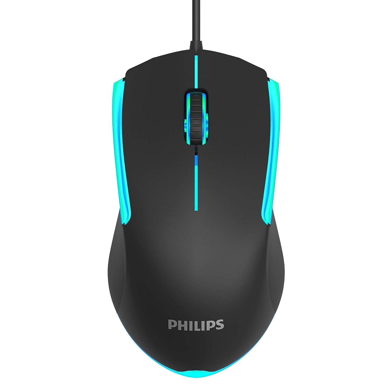 Mouse Gaming PHILIPS con retroiluminación RGB-X7ZY