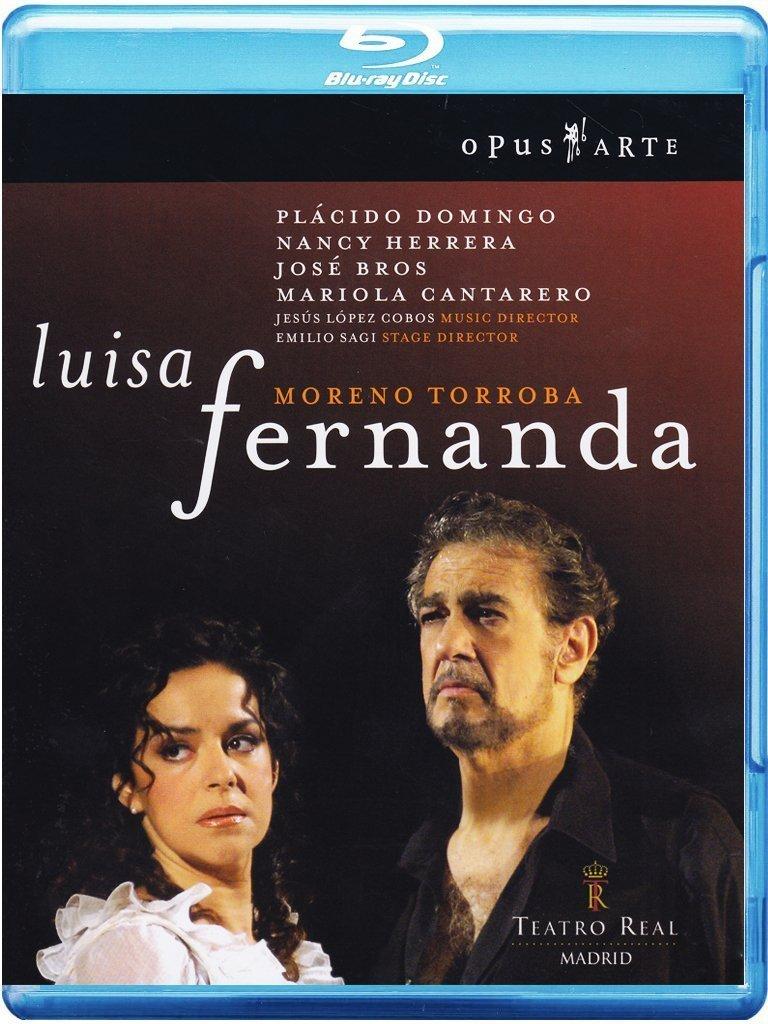 Blu-ray : José Bros - Luisa Fernanda (Subtitled, Widescreen)
