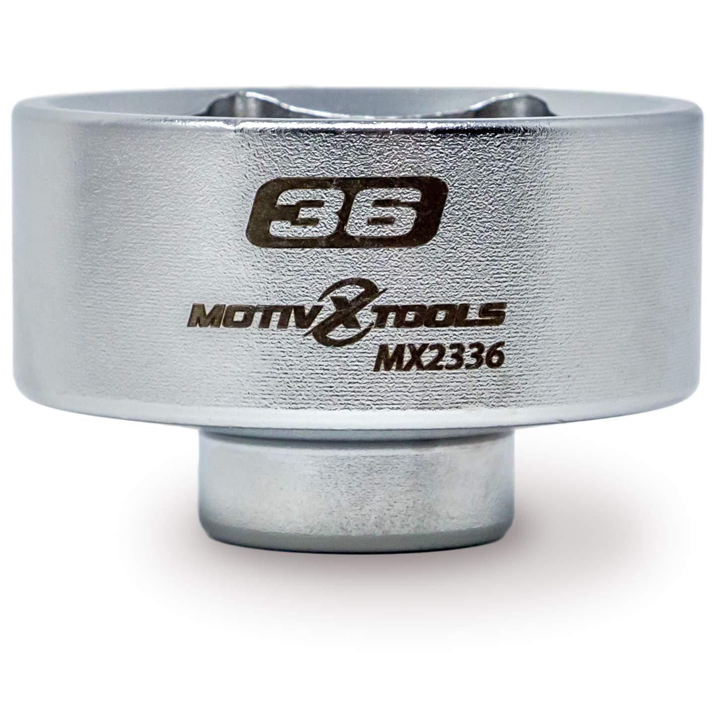 Motivx Tools 36mm Low Profile Oil Filter Socket