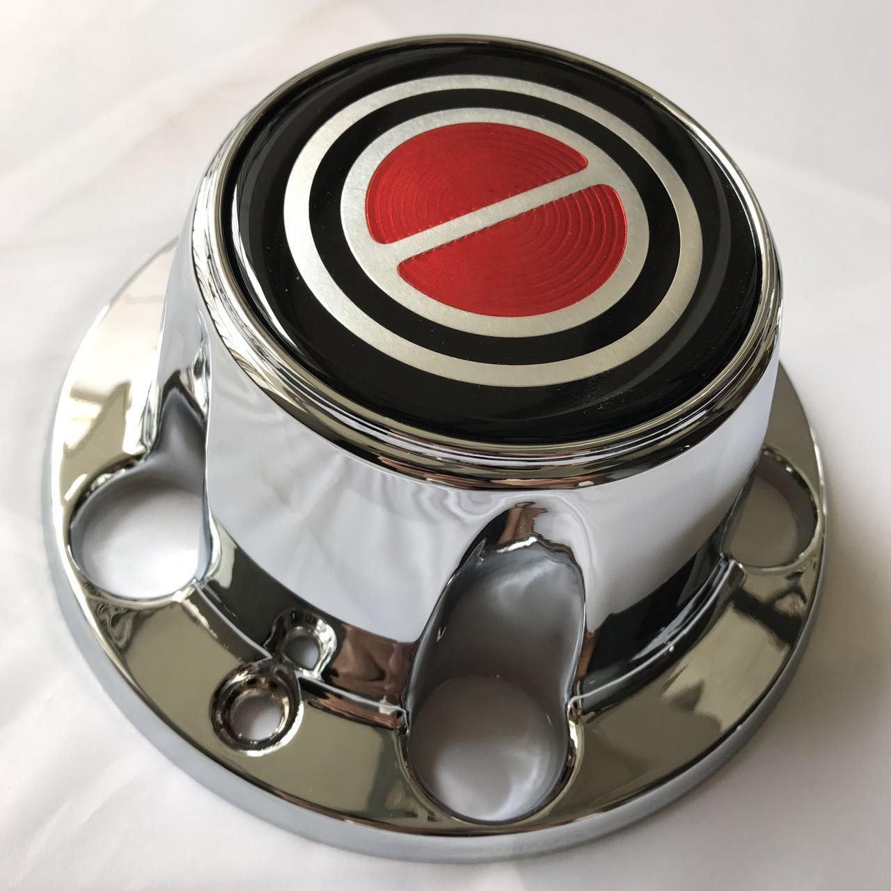 Amazon.com: 1980-1996 FORD F150 BRONCO VAN Chrome Wheel Hub Center Caps RED Center 4 PCS: Automotive