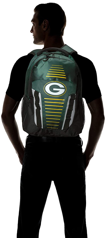 FOCO NFL Unisex Stripe Franchise Backpack