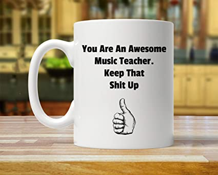 Amazoncom Music Teacher Gift Music Teacher Gifts Gift For Music