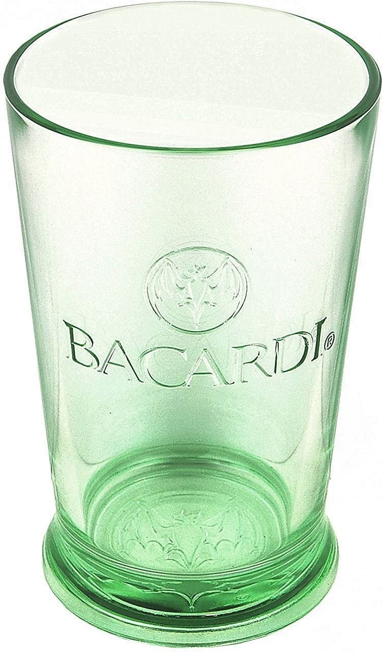 Personalizable con 350 ml (10 oz) Jade vaso de Ron Bacardi Tint, grabado; Regalo de cumpleaños o aniversario fantástico
