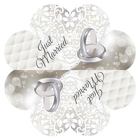 """20 toallas en forma de corazón""""fiesta de la boda ..."""