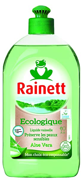 RAINETT líquido lavavajillas a mano Aloe Vera: Amazon.es ...