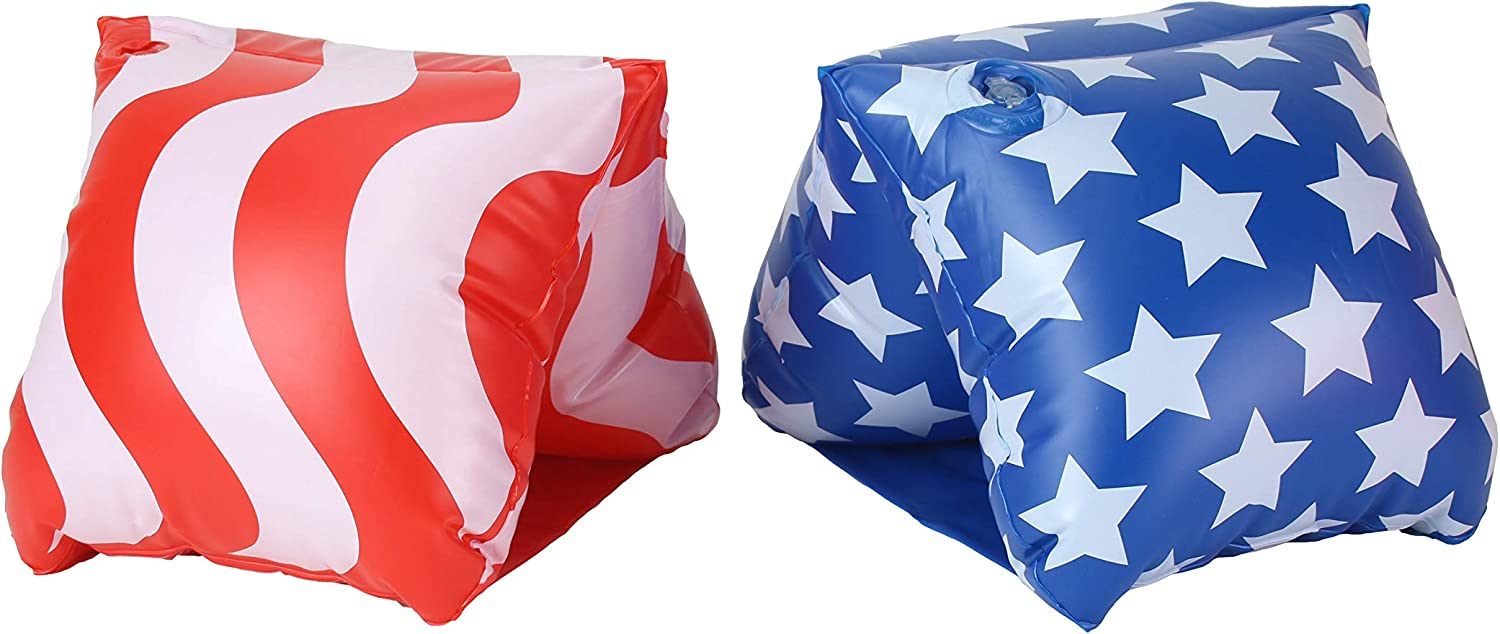 GoFloats Adult Water Wing Floaties - Own The Pool - Available in Multiple Designs (Novelty use only)
