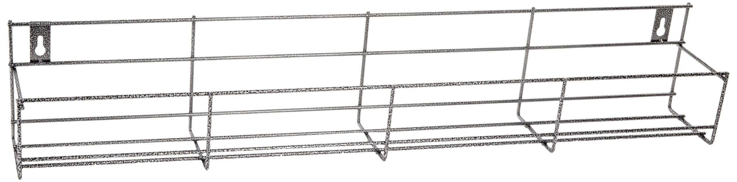 San Jamar B5636SG Heavy Gauge Formed Wire Speed Rack Bottle Holder, 36'' Width x 6'' Height x 4-1/2'' Depth