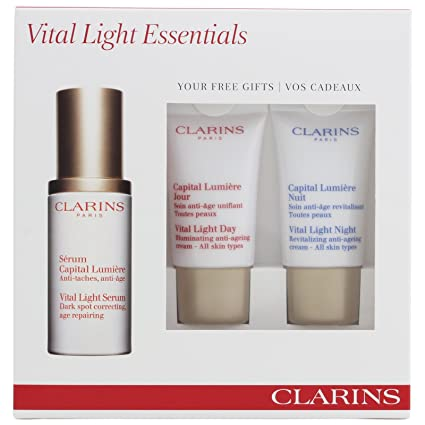 Clarins - Estuche de regalo Serum Capital Lumière: Amazon.es ...