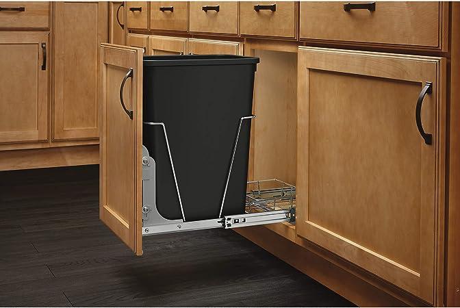 Amazon.com: Contenedor de basura individual extraíble ...