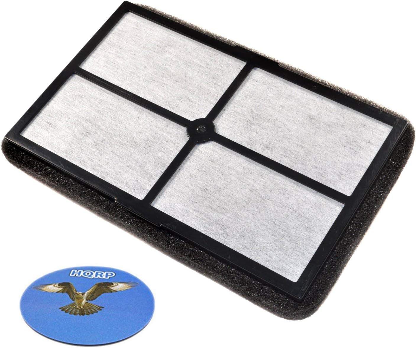 HQRP HEPA Filter works with Black&Decker BXAP040 BXAP041 Table Top models, BXFLTX FLT4010 Replacement plus HQRP Coaster