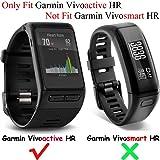 Band for Garmin Vivoactive HR Watch, Soft Silicone