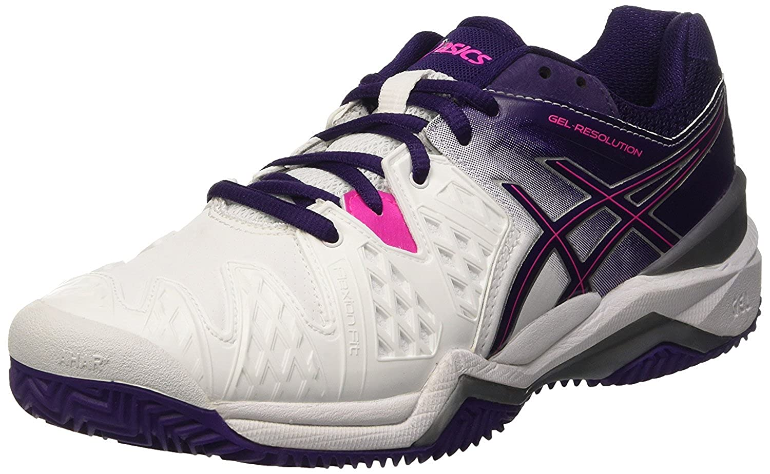 ASICS Gel Resolution 6 Clay, Zapatillas de Tenis para Mujer