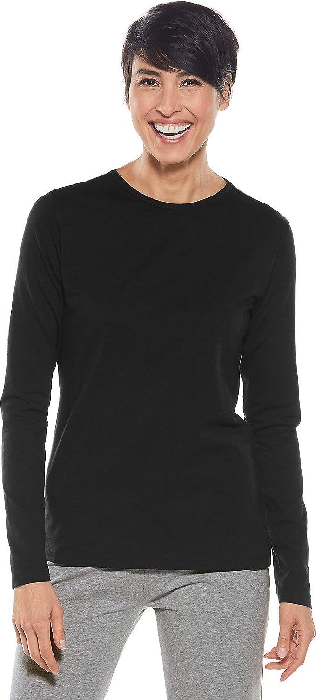 Coolibar UPF 50+ Women's Morada Everyday Long Sleeve T-Shirt - Sun Protective