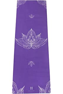 Amazon.com : ECO-FRIENDLY, BEACH PRINTED, NON-SLIP YOGA MAT ...