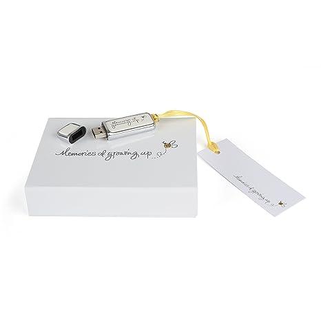 Recuerdos de crecer de memoria USB en paquete de presentación de regalo Talla:16 gigabytes
