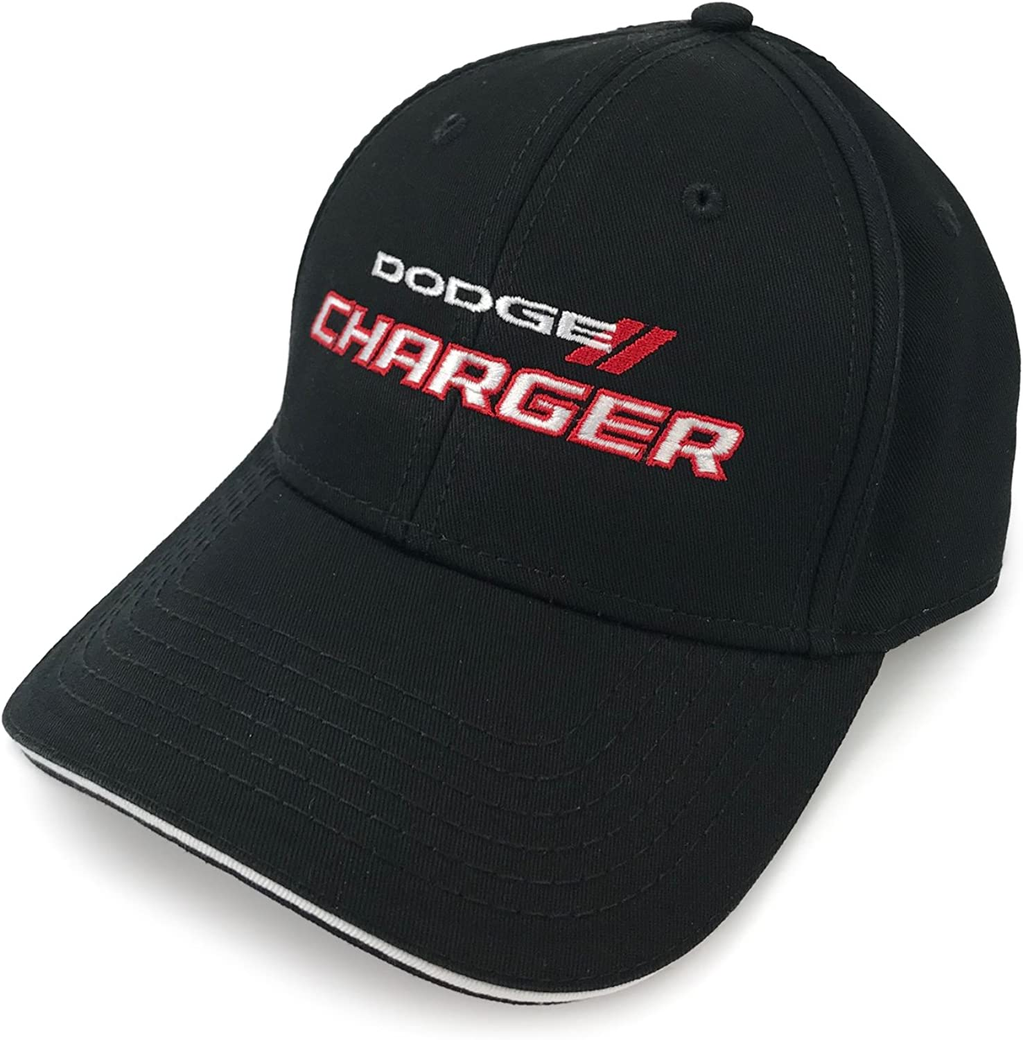 Black Cotton Twill Hat Cap for Dodge Charger