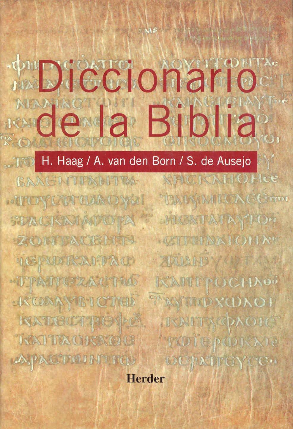 Diccionario de la Biblia (Spanish Edition) by Herder