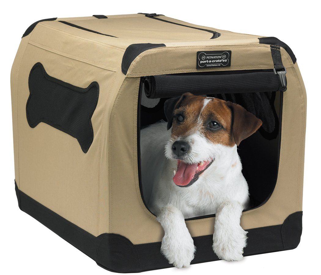 Petnation Port-A-Crate Indoor and Outdoor Home for Pets by Petnation (Image #1)