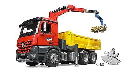 Amazon com: Bruder #03651 MB Arocs Construction Truck With