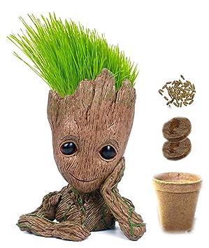 Kit listo para crecer: Haz crecer el pelo de bebé Groot | Juego ...