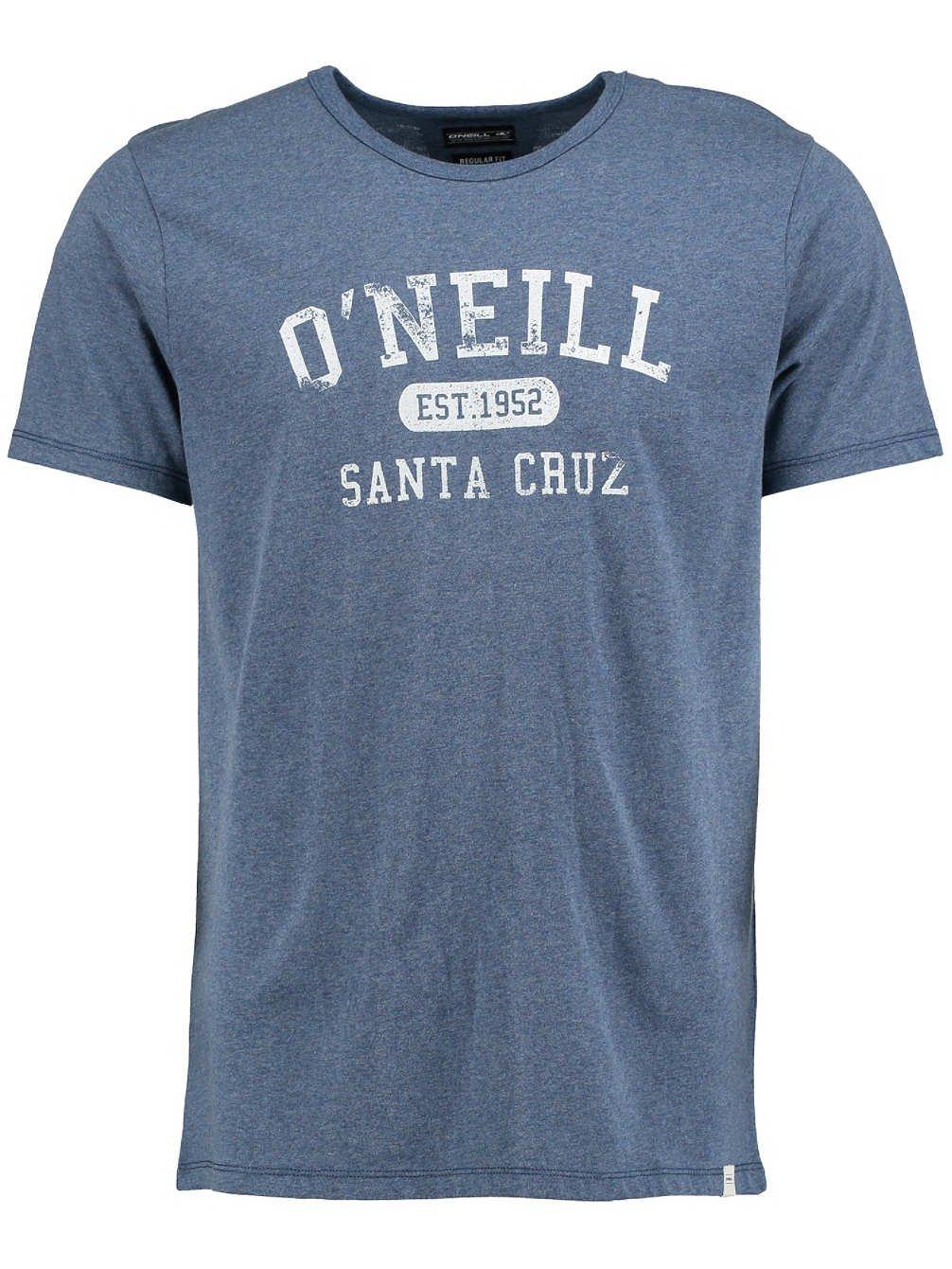 O'Neill men LM SANTA CRUZ MELANGE T-SHIRT,Tees S/SLV,True Navy,S,602346