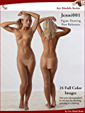 Art Models Jenni001: Figure Drawing Pose Reference (Art Models Poses)