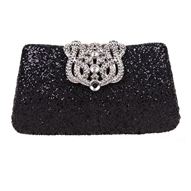 meet 50% price brand quality Fawziya Crown Glitter Clutches And Evening Bags Bling Clutch Purses For  Women