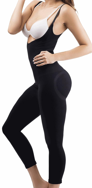 d73a35bcc07fd Amazon.com  Body Shapers For Women Full Body Girdle Cincher