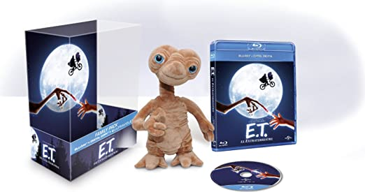 E.T.: El Extraterrestre (Con Peluche) [Blu-ray] [Import espagnol