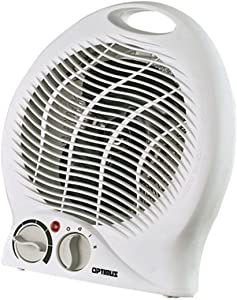 Portable Electric Fan Compact Heater with Thermostat