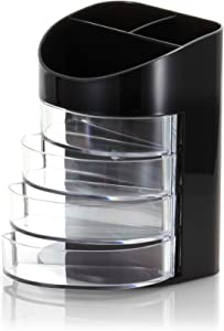 OfficemateOIC 7 Compartment Supply Organizer, Clear (66824)