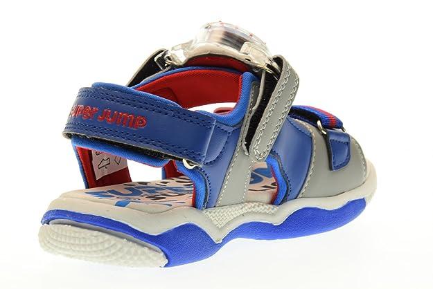 Superjump Collezione America Scarpe Bambino Sandali Sj2974 Victor Grigio/blu Taglia 33 Grigio-Bluette Venta Barata Finishline Baúl Venta Barata Perfecta 3agoV9AmA