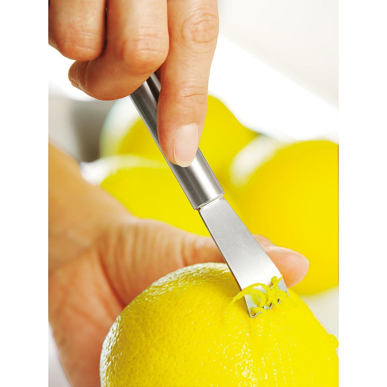 Zitronenschaber in der Praxis