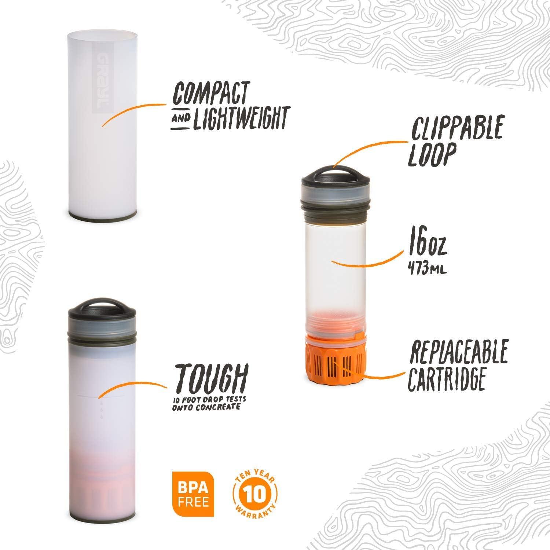 Bottle + Filter GRAYL Ultralight Water Purifier