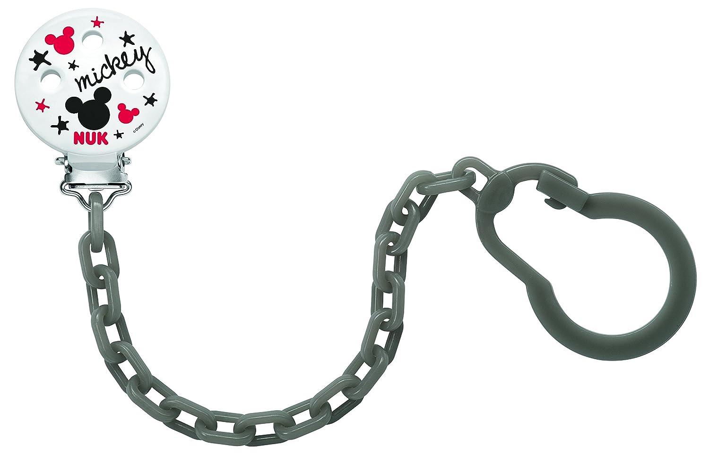 Nuk Mickey - Cadenita atachupete, 1 unidad [colores surtidos]