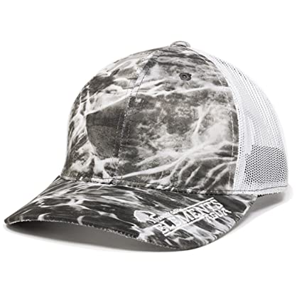 Mossy Oak Elements Fishing Hats (Agua Manta/White)