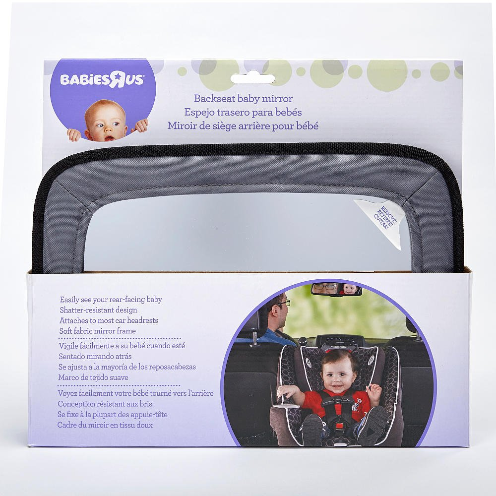 Amazon.com : Babies R Us Backseat Baby Mirror : Baby
