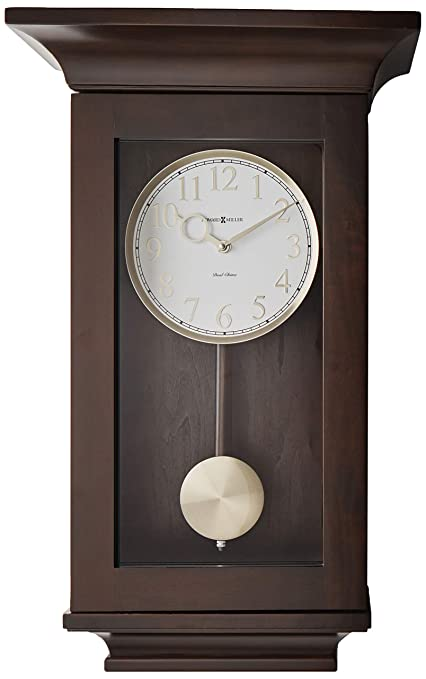 Amazon Com Howard Miller 625 379 Gerrit Wall Clock Home Kitchen