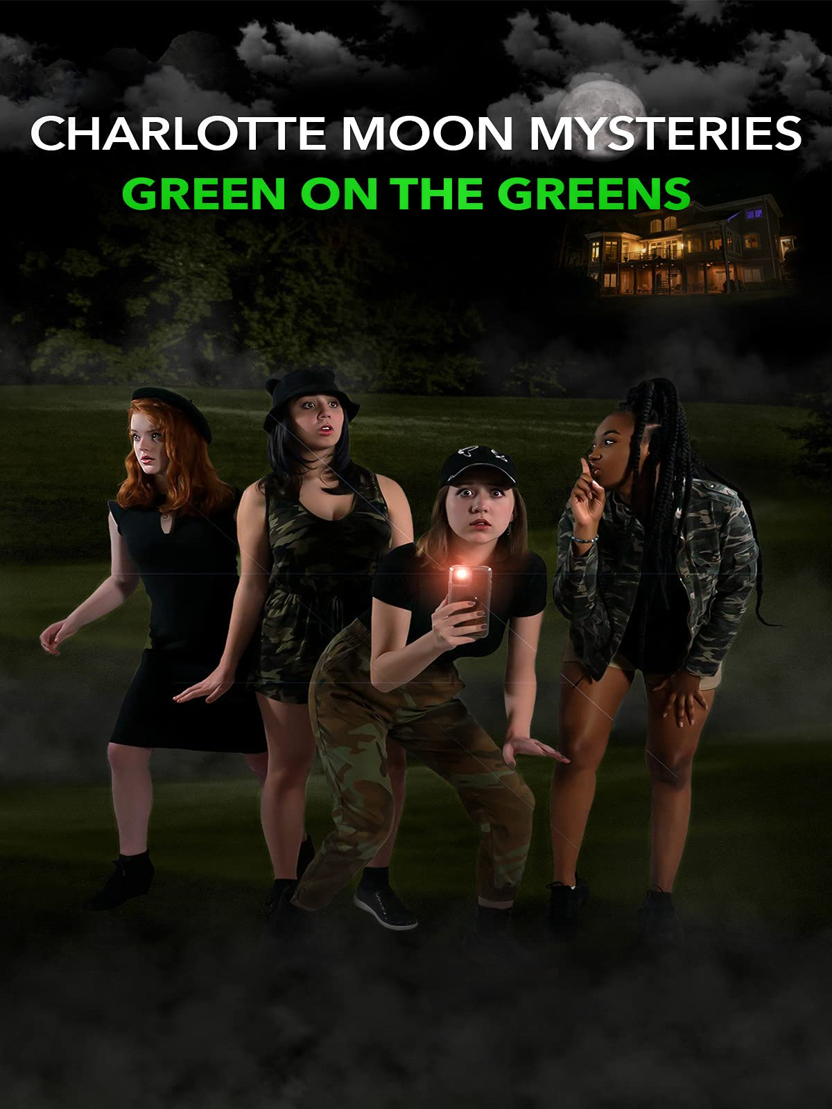 Charlotte Moon Mysteries - Green on the Greens