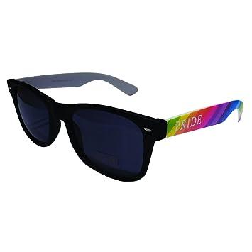 Lunettes de Soleil Gay Pride Couleur de L'arc-en-ciel (Gay Pride Wayfarers) JjusM