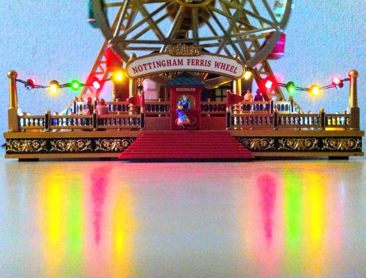 【超歓迎された】 電飾のテーブルへの反射が幻想的な虹色ダブル観覧車 30曲 オルゴール 30曲 オルゴール ミスタークリスマス Mr Mr Christmas B07KBYRH79, 紀州 器楽や:bfa61fd4 --- garagegrands.com