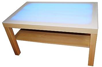 HenBea - Juguete educativo Mi mesa de luz, color beige (1000)