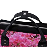 Backpack Pink Azalea Flowers Mens Laptop