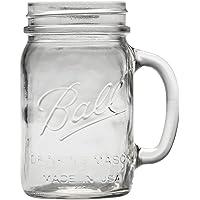 Ball Regular Mouth Drinking Mason Jar,16 Oz,6 pack