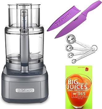 Cuisinart FP-11GMWS - Procesador de alimentos de 11 tazas, incluye libro de cocina, cucharas medidoras y cuchillos: Amazon.es: Hogar