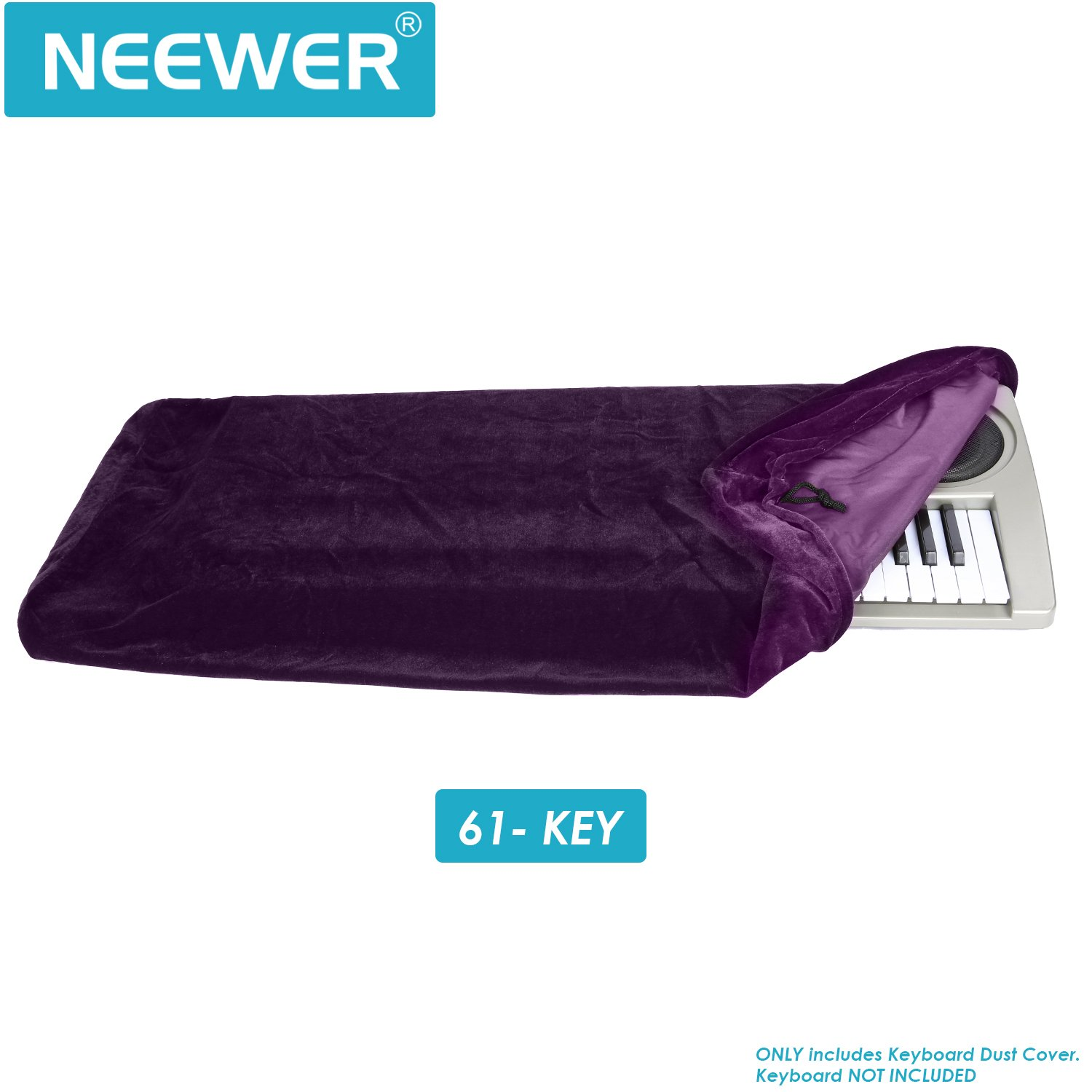 Neewer%C2%AE Keyboard Cover Keyboards Dimension Image 2